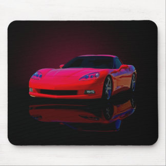 Americas Sports Car Mouse Pad