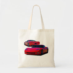 Americas Sports Car Tote Bag at Zazzle