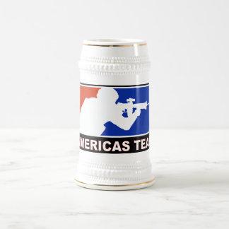 AMERICAS TEAM BEER STEIN