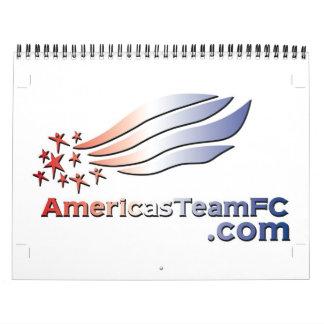 Americas Team FC - Logo Color-2 - Customized Calendar