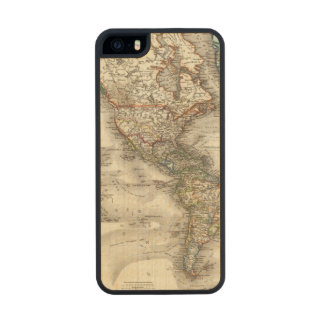 Americas Wood Phone Case For iPhone SE/5/5s
