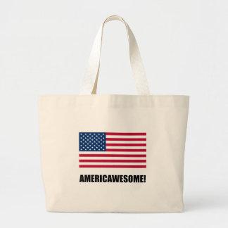 Americawesome Bolsa Tela Grande