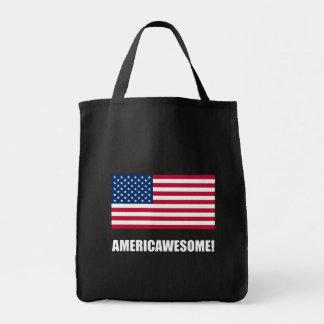 Americawesome Bolsa Tela Para La Compra