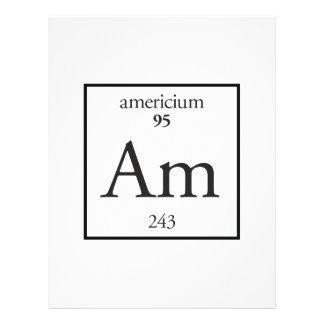 Americium Personalized Flyer