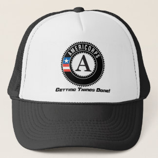 americorps logo, Getting Things Done! Trucker Hat