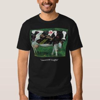 'AmeriCOW Graffiti' dark Tshirts