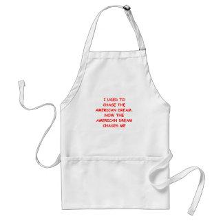 americqan dream adult apron