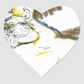 Americus Homericus Heart Sticker