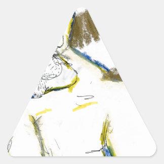 Americus Homericus Triangle Sticker