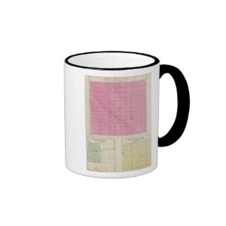 Americus, Scottville, Pittsburgh, Kansas Ringer Mug
