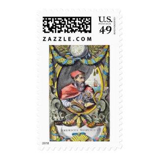 Americus Vespucius Stamp