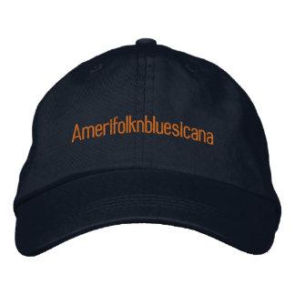Amerifolknbluesicana Embroidered Baseball Cap