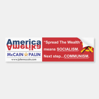 Amerika Bumper Sticker