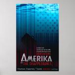 AMERIKA o la desaparición Poster