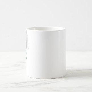 Amerikanische Jungferninseln Flagge mit Namen Coffee Mug