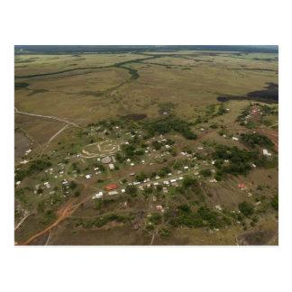 Amerindan Village. Seasonally-flooded Postcard