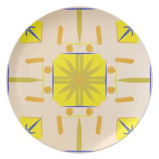 Amerindian Design Plate