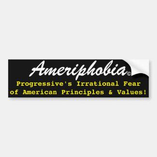 Ameriphobia© Bumper Sticker