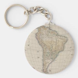 Amérique Meridionale (1750) Keychain