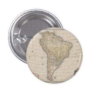 Amérique Meridionale (1750) Pinback Button