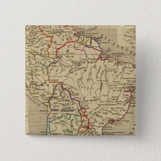 Amerique Meridionale en 1840 Button