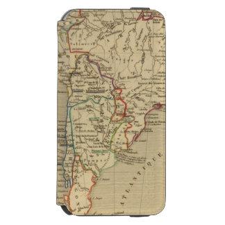 Amerique Meridionale en 1840 iPhone 6/6s Wallet Case