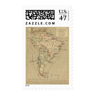 Amerique Meridionale en 1840 Postage