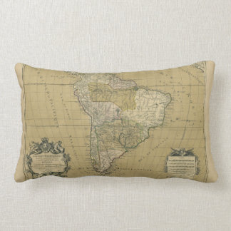 Amerique Meridionale South America Map (1783) Throw Pillow