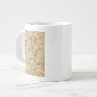 Amerique Septentrionale en 1840 Giant Coffee Mug