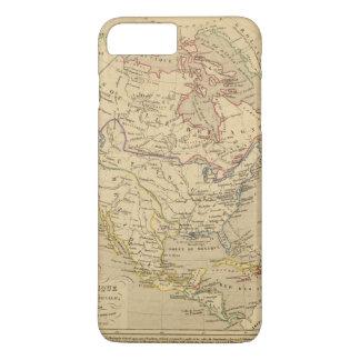 Amerique Septentrionale en 1840 iPhone 7 Plus Case
