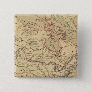 Amerique Septentrionale en 1840 Pinback Button