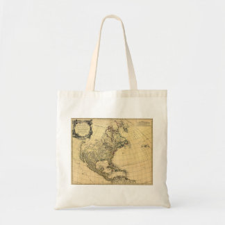 Amerique Septentrionale Robert de Vaugondy 1750 Tote Bag
