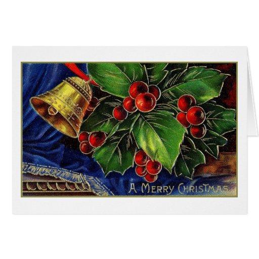 amerrybellsnholly greeting card