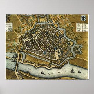 Amersfoort - 1652 poster