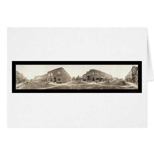 Ames, foto 1907 de IA Felicitaciones