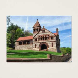 Ames Free Library ~ ATC Business Card