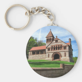 Ames Free Library ~ keychain