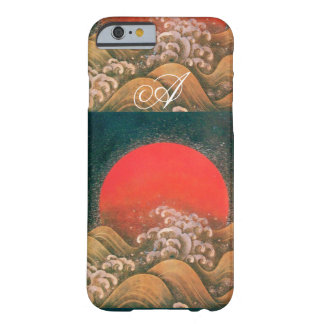 AMETERASU , SUN GODDESS red brown black Barely There iPhone 6 Case
