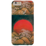 AMETERASU , SUN GODDESS red brown black Barely There iPhone 6 Plus Case