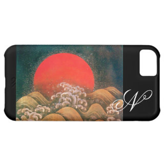 AMETERASU , SUN GODDESS red brown black iPhone 5C Cover