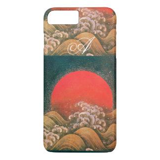 AMETERASU , SUN GODDESS red brown black iPhone 8 Plus/7 Plus Case