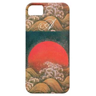 AMETERASU , SUN GODDESS red brown black iPhone SE/5/5s Case