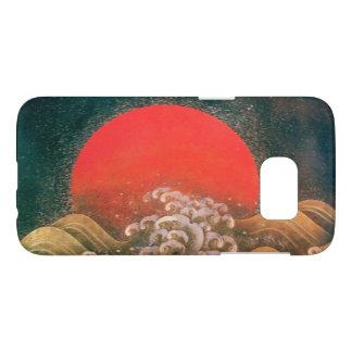 AMETERASU , SUN GODDESS red brown black Samsung Galaxy S7 Case