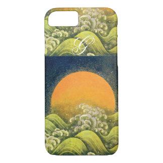 AMETERASU , SUN GODDESS Yellow Green Black iPhone 8/7 Case