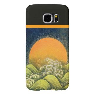 AMETERASU ,SUN GODDESS Yellow Green Black Samsung Galaxy S6 Case
