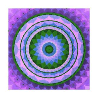 Amethist Mandala Canvas Print