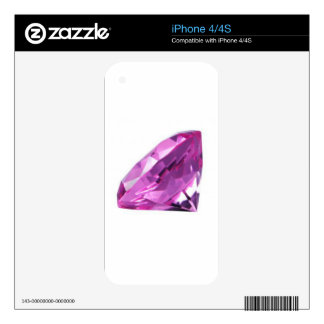 Amethyst 01, February, Birthstone Skin For The iPhone 4S