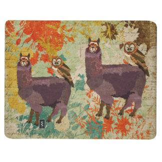 Amethyst Alpaca & Owl Journal