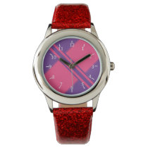 Amethyst and Hot Pink Watches
