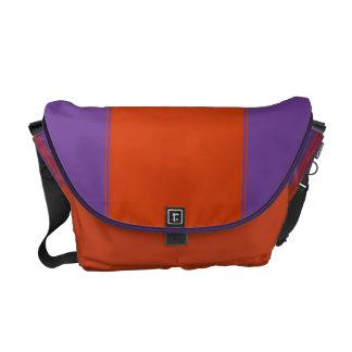 Amethyst and Mandarin Rbbonesque Messenger Bag